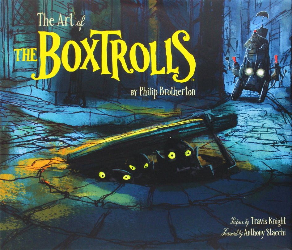 Book Review The Art Of The Boxtrolls Animation World Network