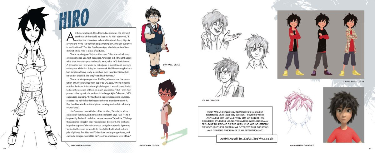 Book Review The Art Of Big Hero 6 Animation World Network