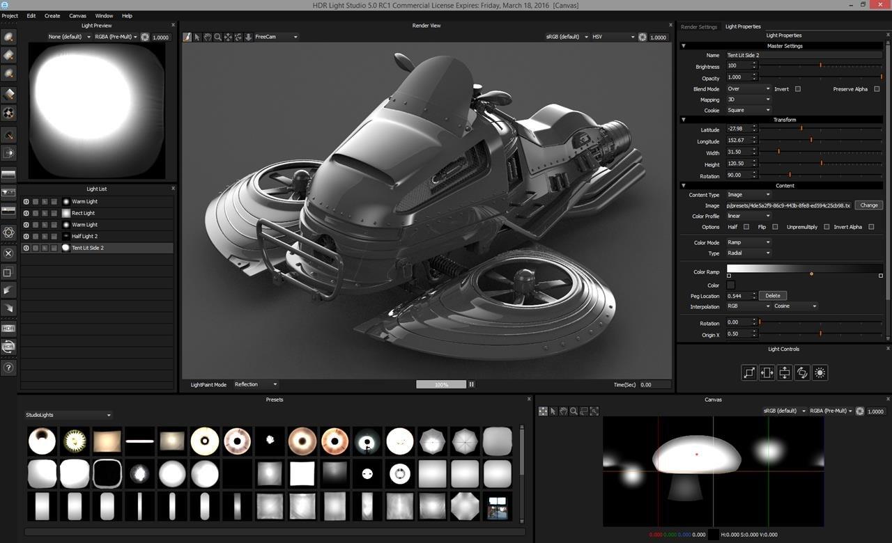 Lightmap Launches HDR Light Studio 5  sc 1 st  Animation World Network & Lightmap Launches HDR Light Studio 5 | Animation World Network azcodes.com