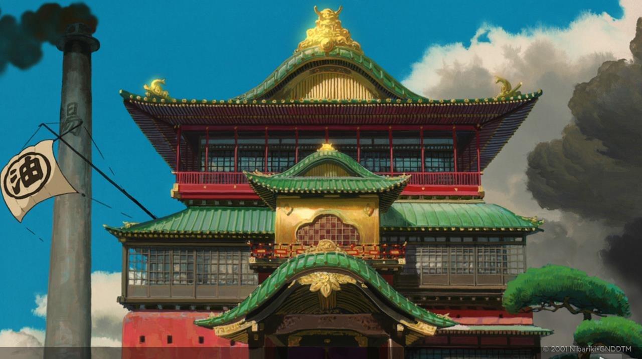 Look Background Art From Studio Ghibli S Spirited Away Animation World Network