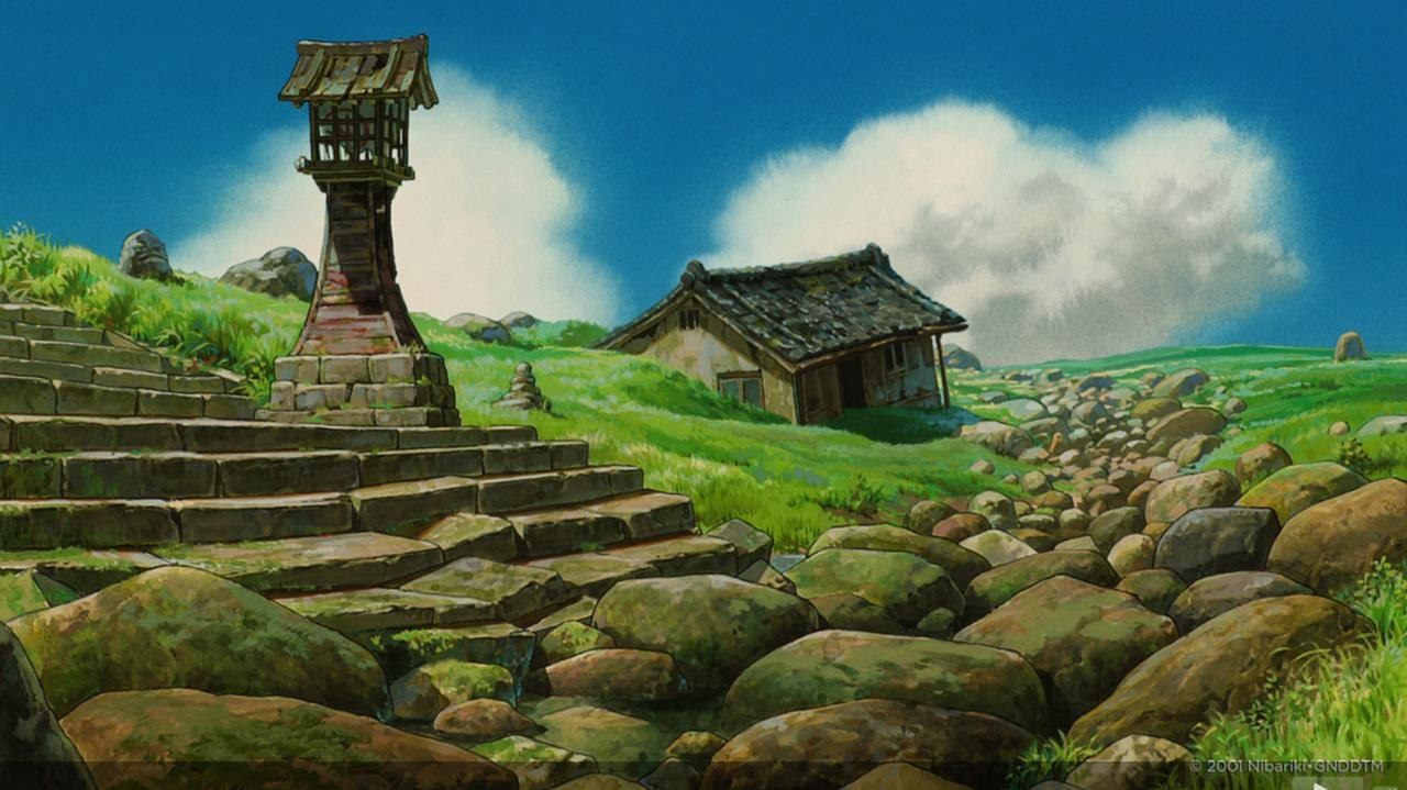 LOOK Background Art From Studio Ghiblis Spirited Away
