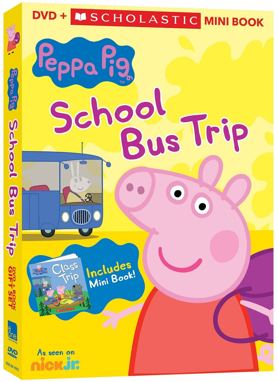 'Peppa Pig' Heads Back to School with New DVD + Book Set   Animation World  Network