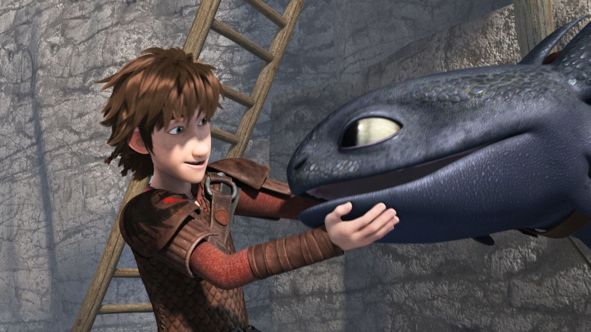 Dreamworks Andflix Team Up On 'dragons: Race To The Edge'