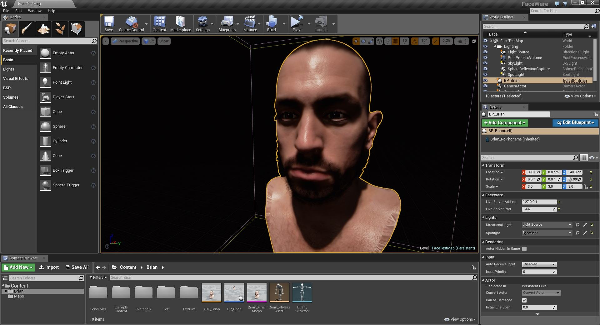 Faceware Live Gets Unreal | Animation World Network