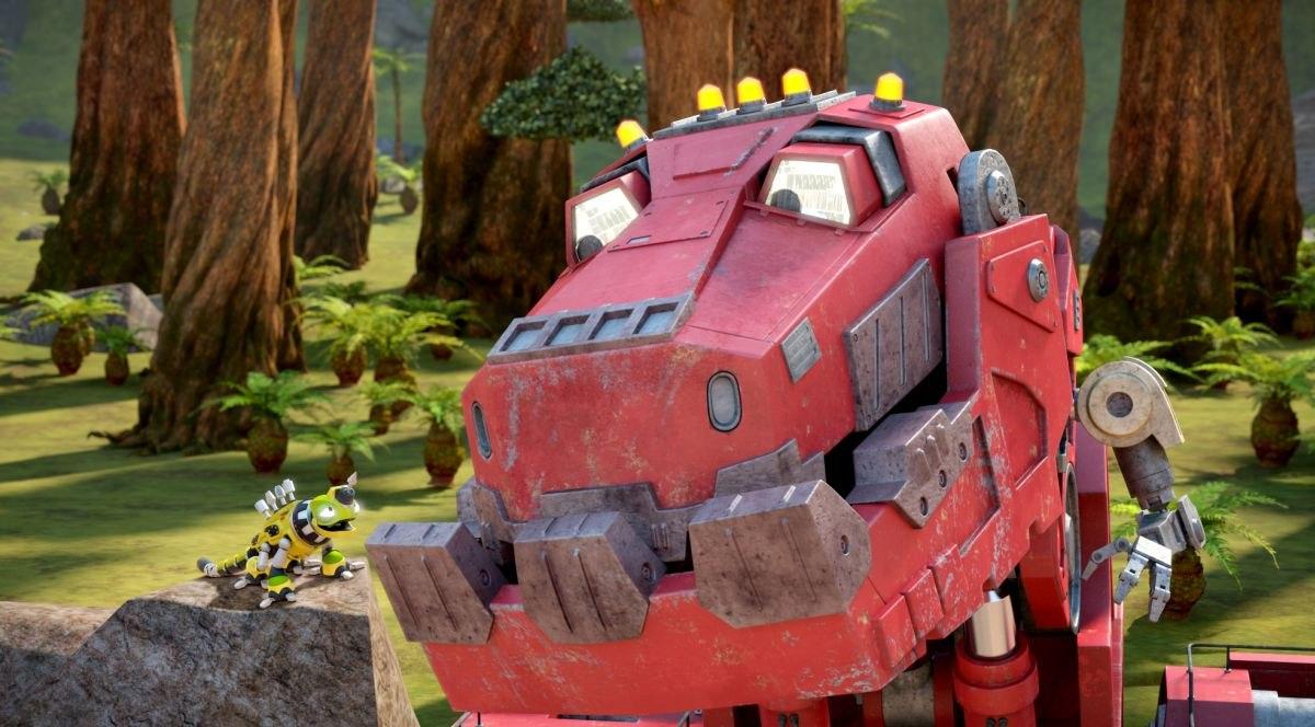 Dinosaurs And Trucks Collide In Dreamworks New Netflix Kid Series Dinotrux Animation World Network