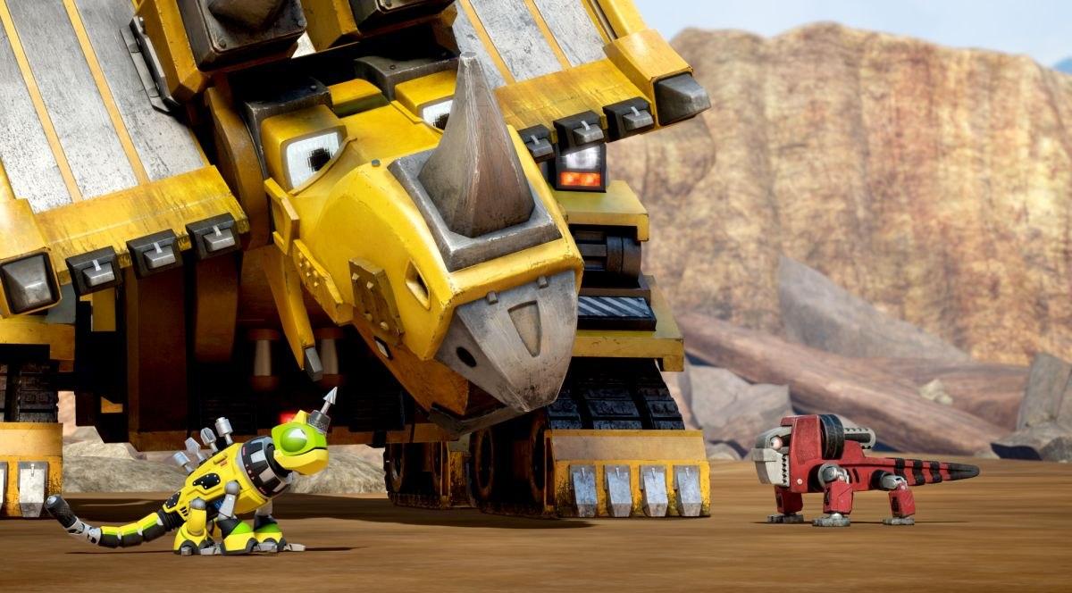 dinosaurs and trucks collide in dreamworks u0027 new netflix kid series