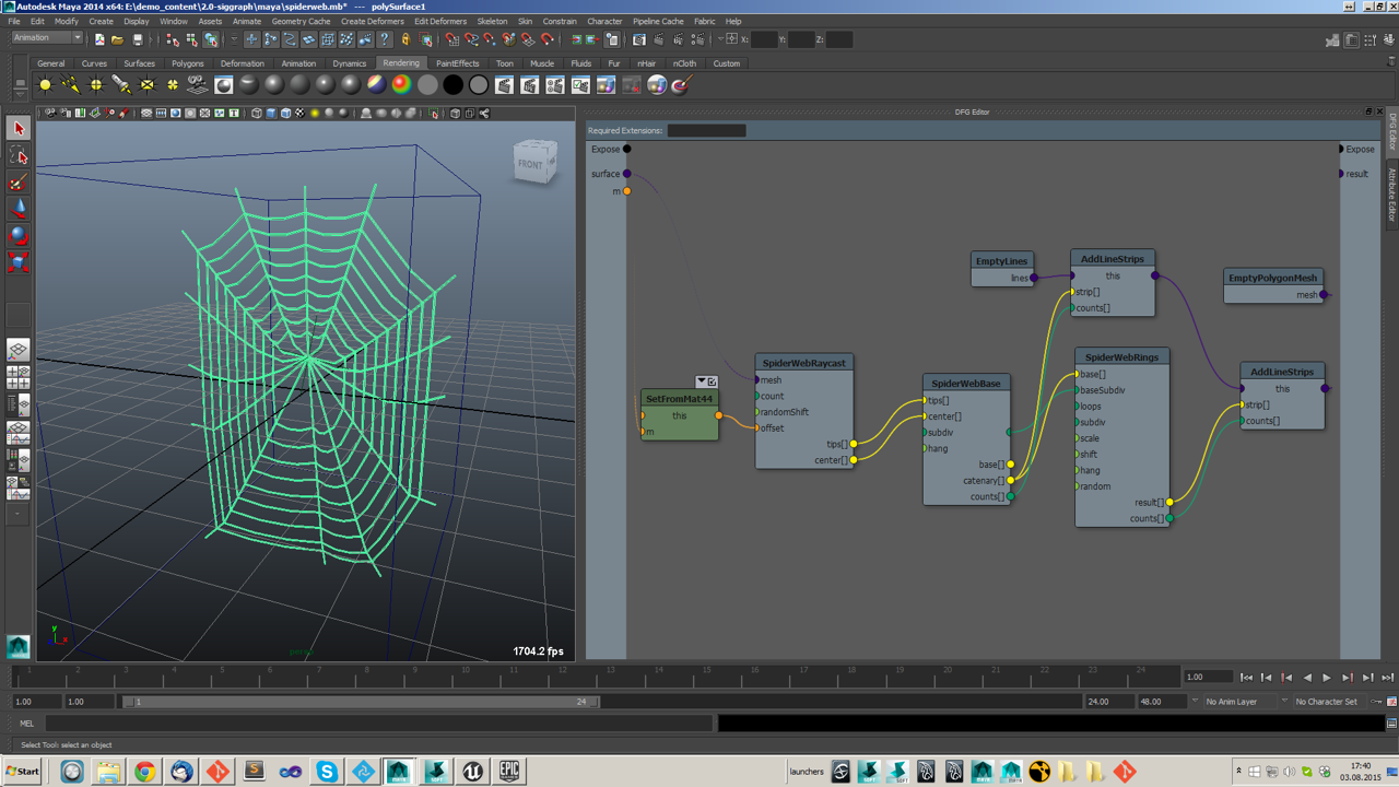 Fabric Engine 2 Available Now for Download | Animation World Network