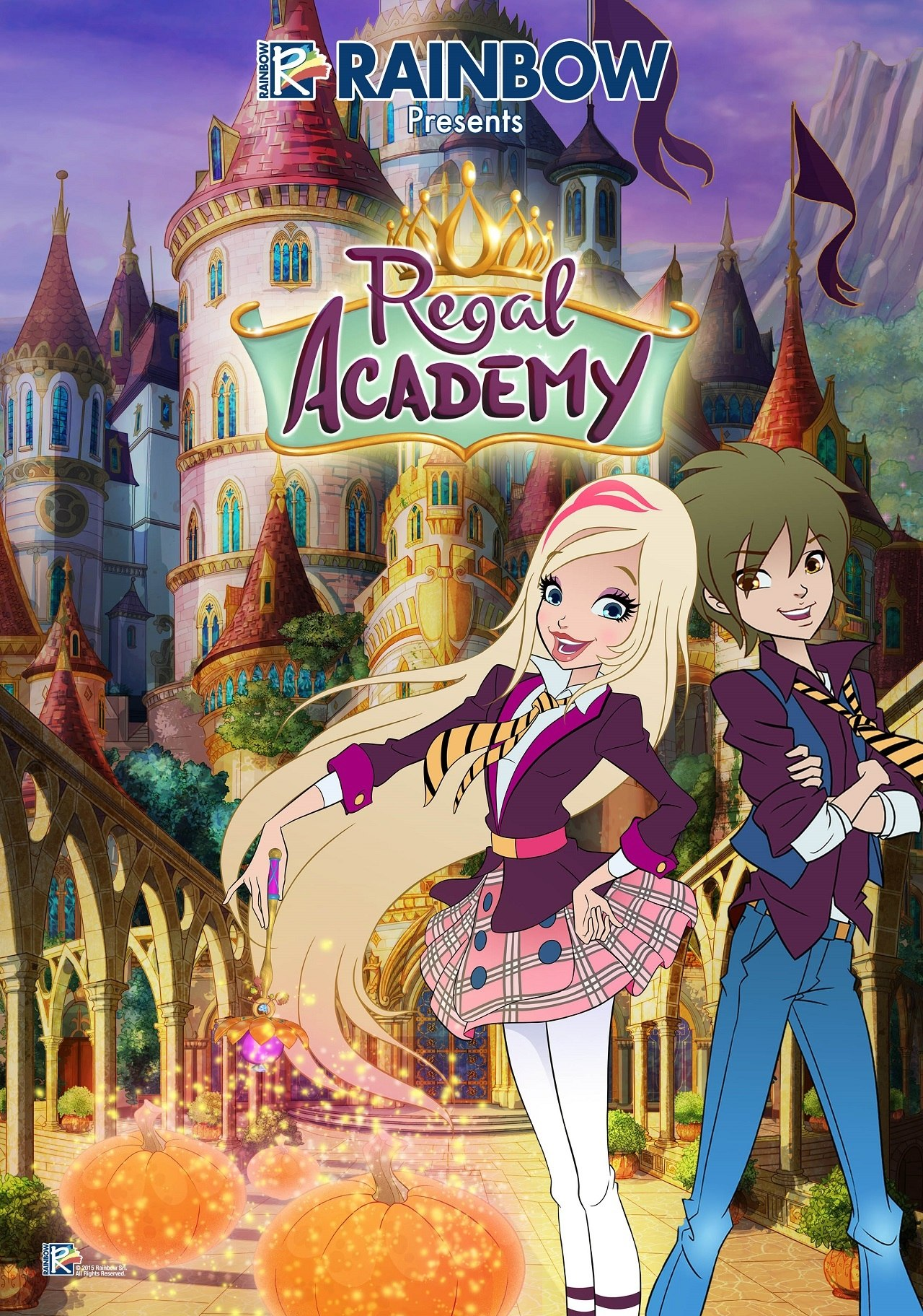 Regal Academy Is A Sparkling New Series Featuring An Irresistible Mixture Of Comedy Music And Innovative Animation Techniques