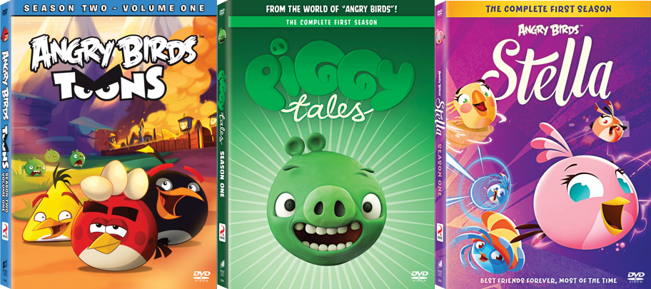 Angry Birds' Blast Off on DVD December 1 | Animation World Network