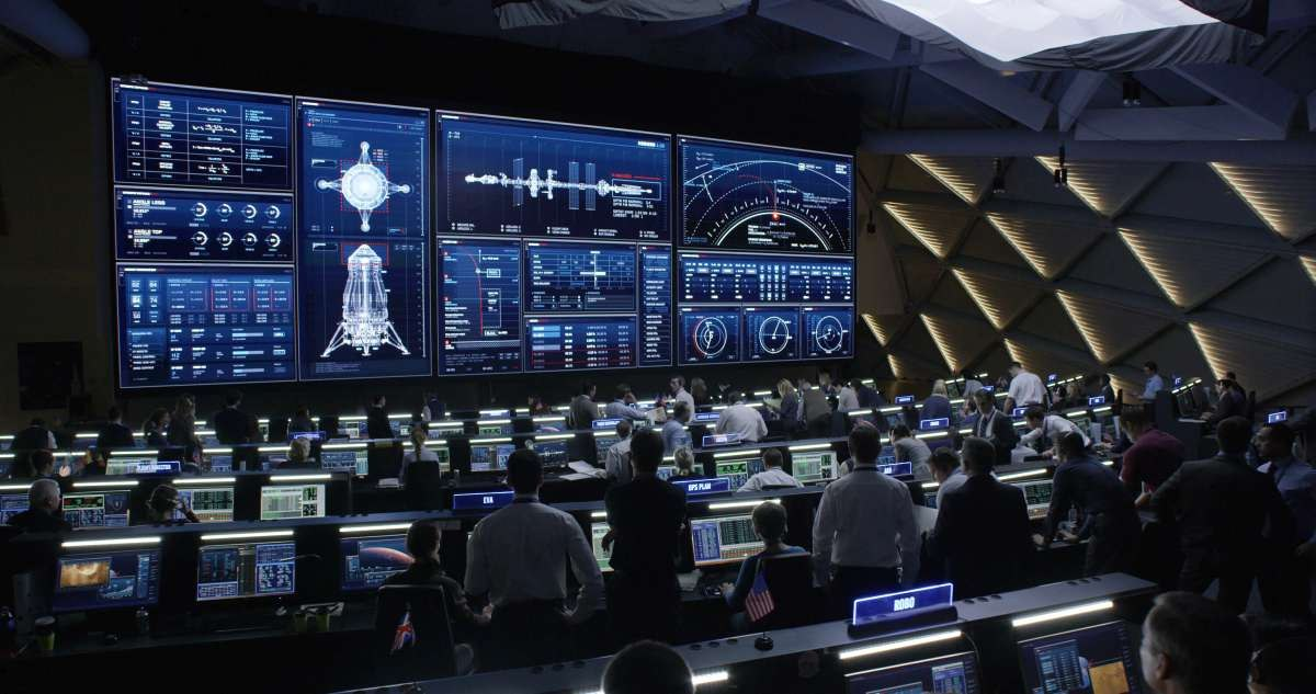Mission Control Monitor : Interfacing with mars territory studio and 'the martian