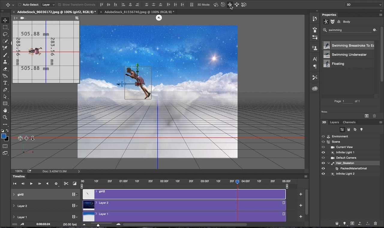 tutorial create 3d animated gifs with adobe fuse cc and photoshop