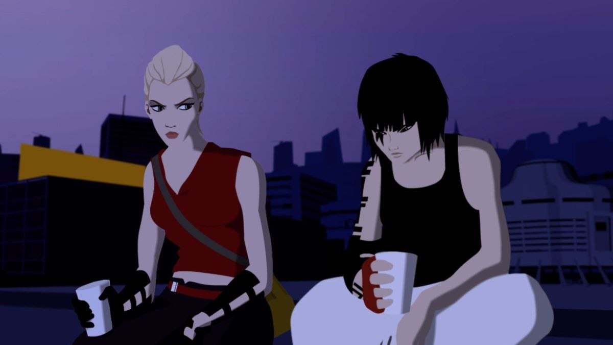 Resultado de imagem para Mirror's Edge 2007 cartoon