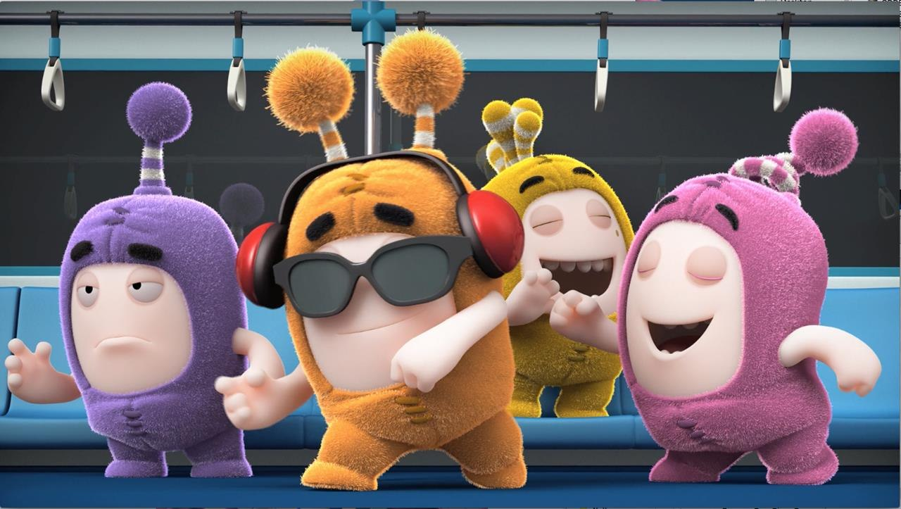 One Animation S Oddbods Reaps Rising U K Ratings