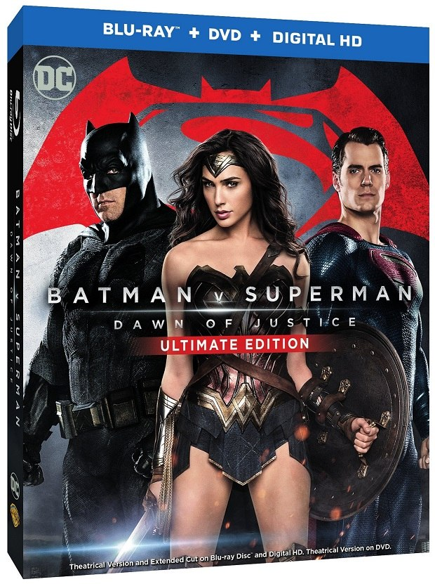 Batman v Superman: Dawn of Justice' Lands on Blu-ray July 19