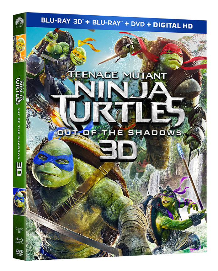 Teenage Mutant Ninja Turtles Out Of The Shadows Arrives On Blu Ray September 20 Animation World Network