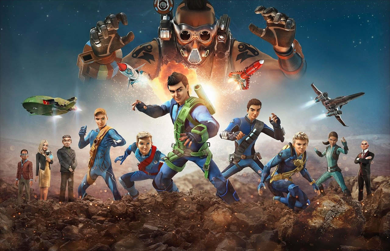 Itv Studios Gears Up For U K Launch Of Thunderbirds Are