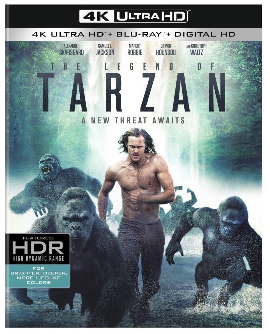 Legend Of Tarzan Arrives On Blu Ray October 11 Animation World Network