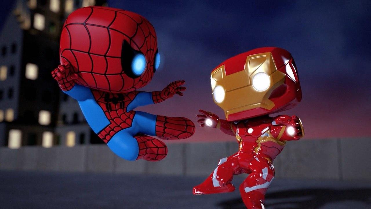 Marvel Disney Announce New Animated Spider Man Series Animation