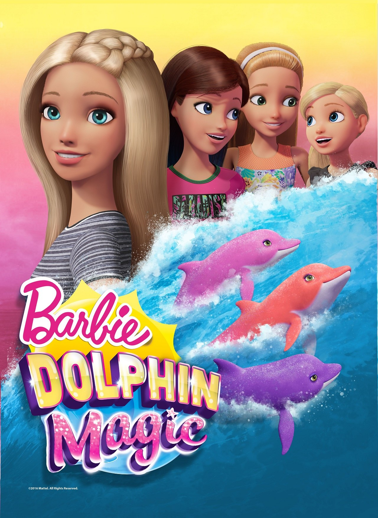 In addition, a 60-minute Barbie special, Barbie Dolphin Magic , will ...