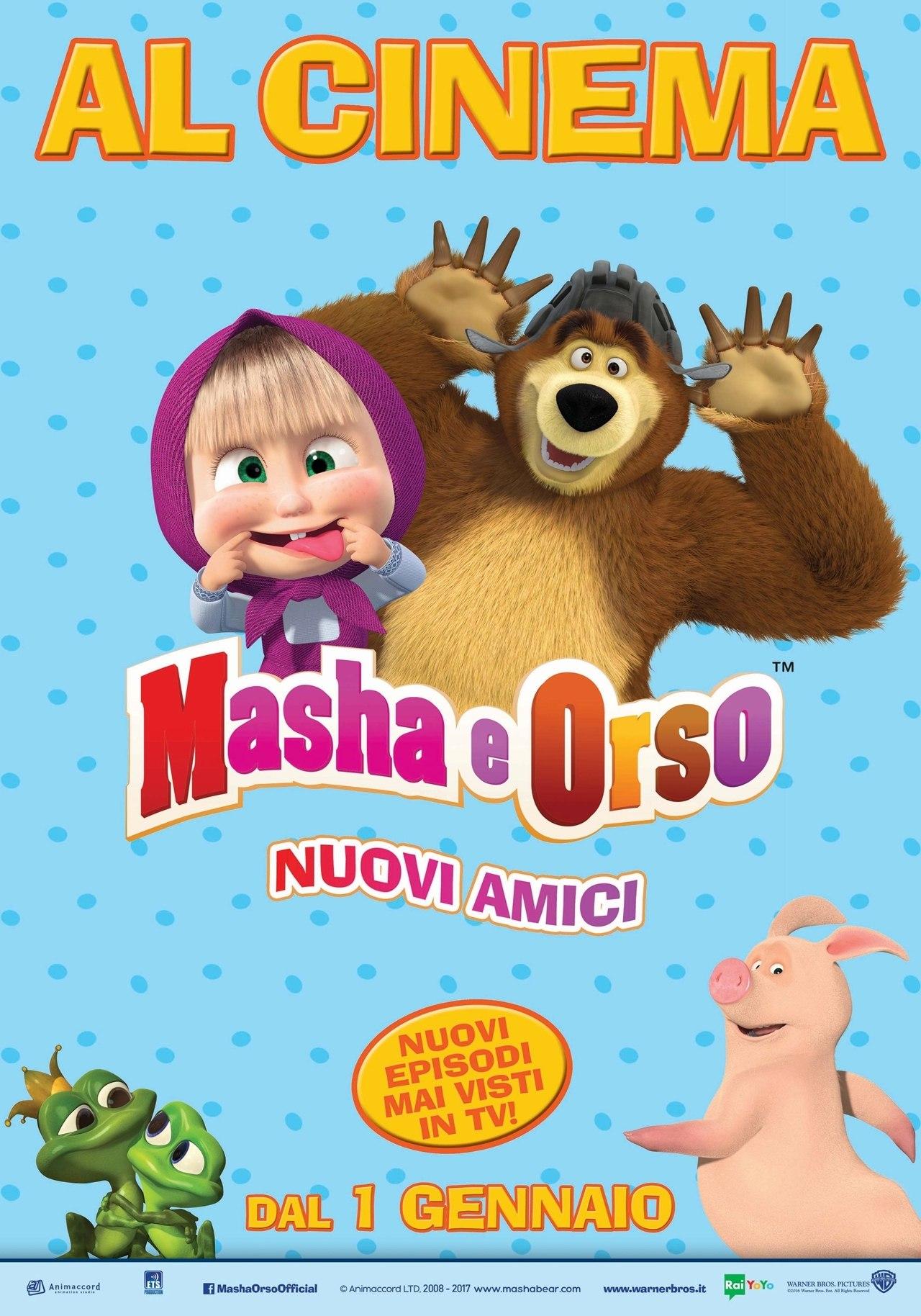 Animaccords Masha and the Bear a Worldwide, Multi