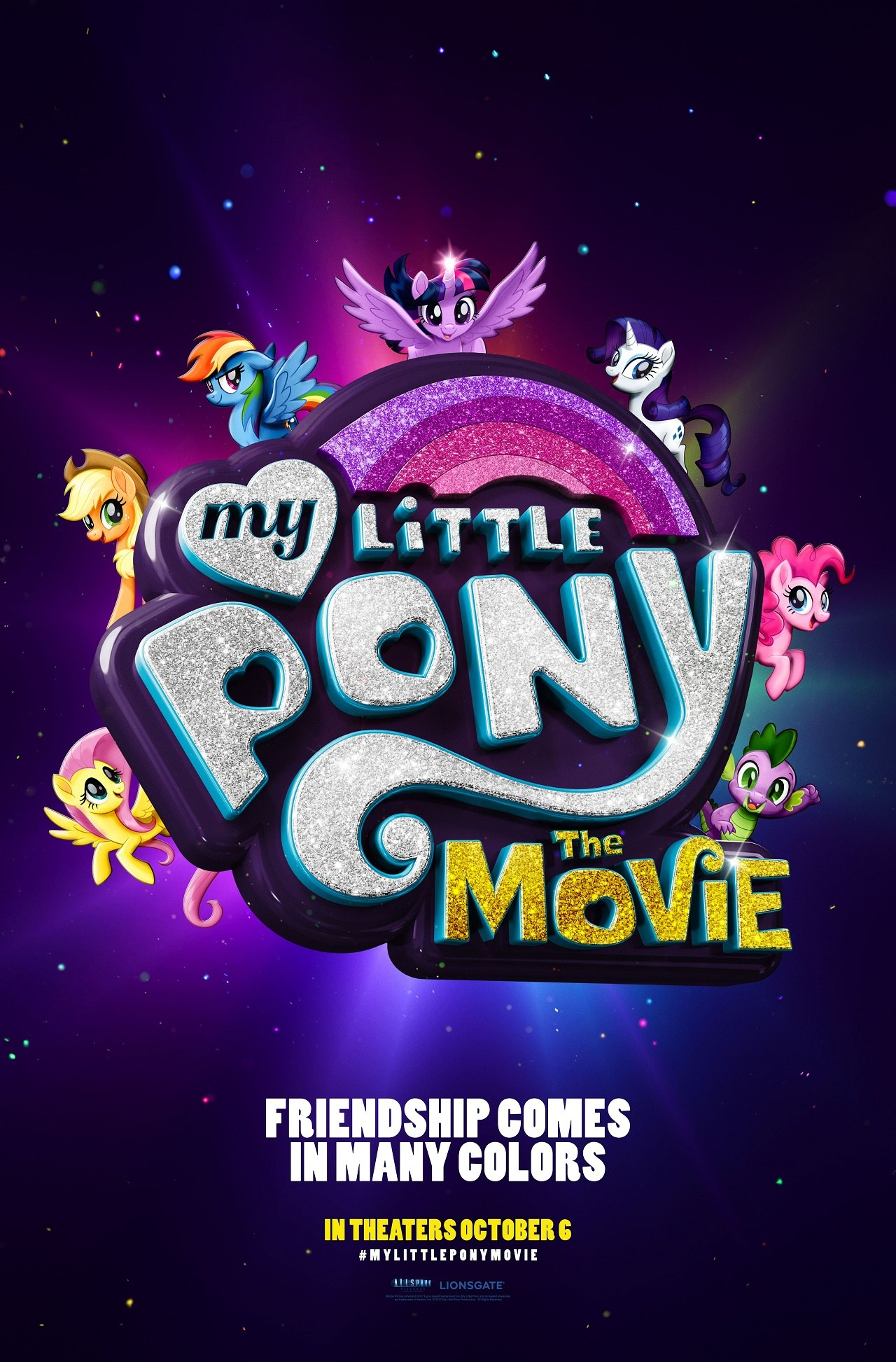 lionsgate unveils first look at my little pony the movie