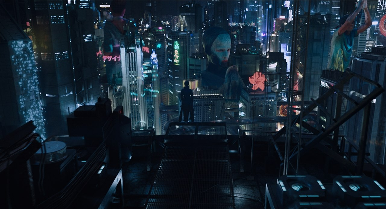 29+ Ghost In The Shell Cityscape Anime Pics