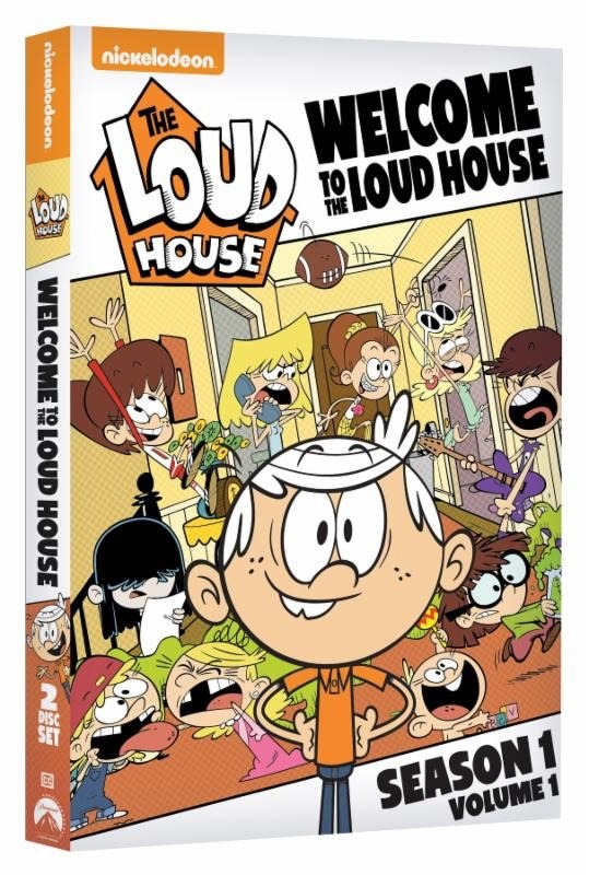 Nickelodeons The Loud House Headed To Dvd  Animation -9232