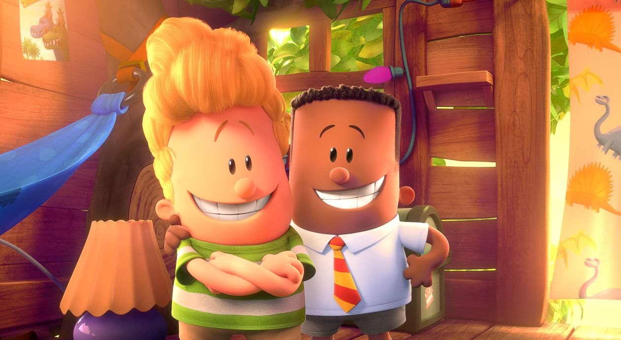 the amazing captain underpants the first epic movie comes to the