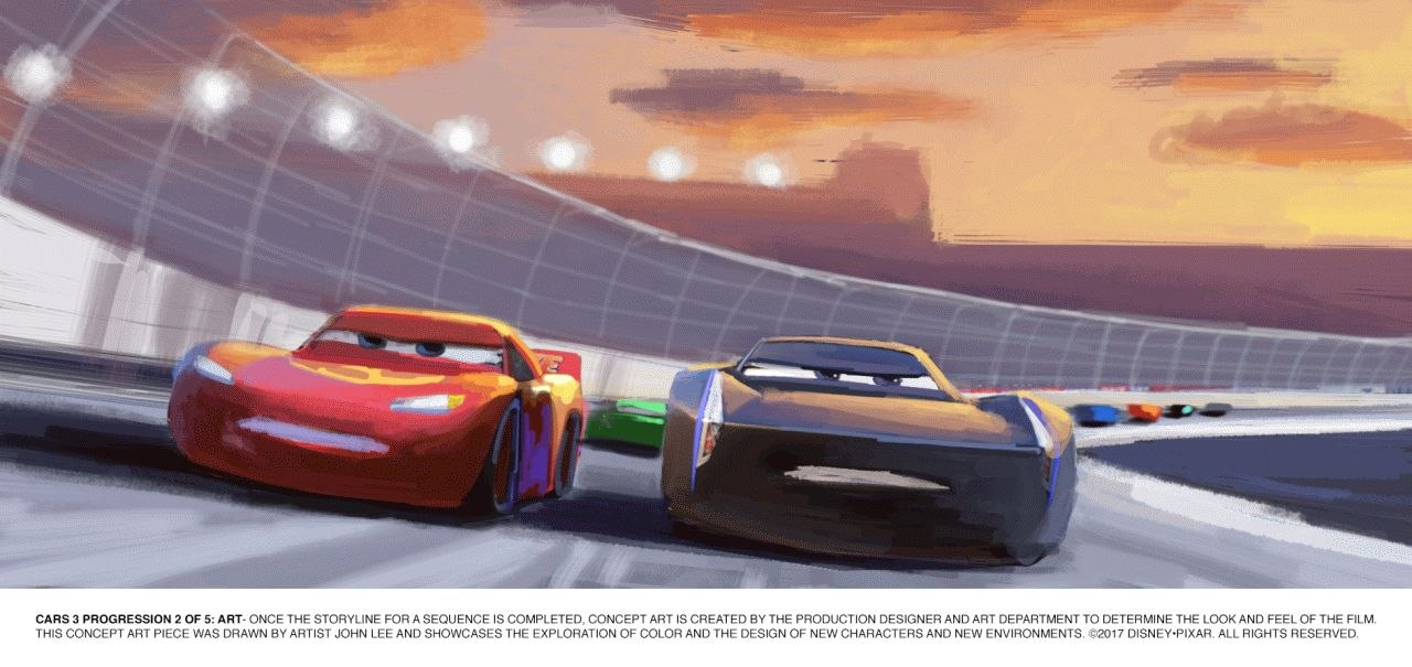 She Noted That In The Cars Universe, The Characters Are Basically Just  Heads, Although They Can Pretend That The Wheels Are Arms To A Certain  Extent.