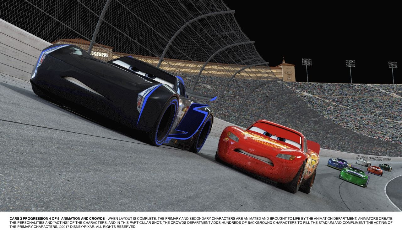 Breaking Down Cars Animation World Network