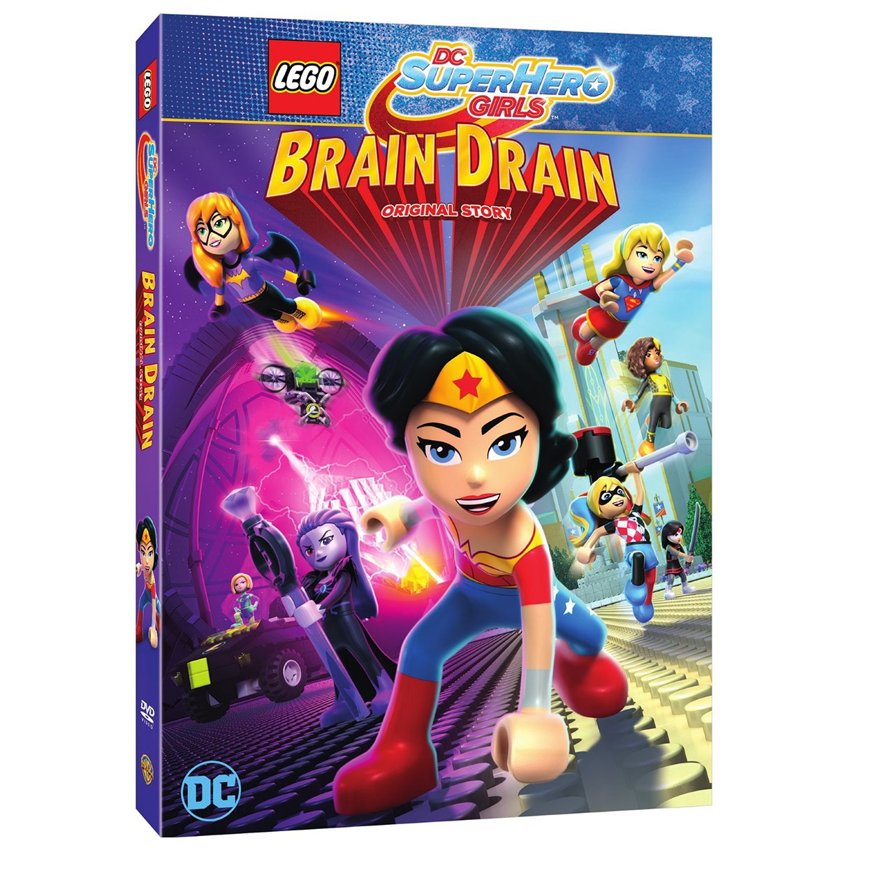 Warner Bros. Home Entertainment Announces \'LEGO DC Super Hero Girls ...