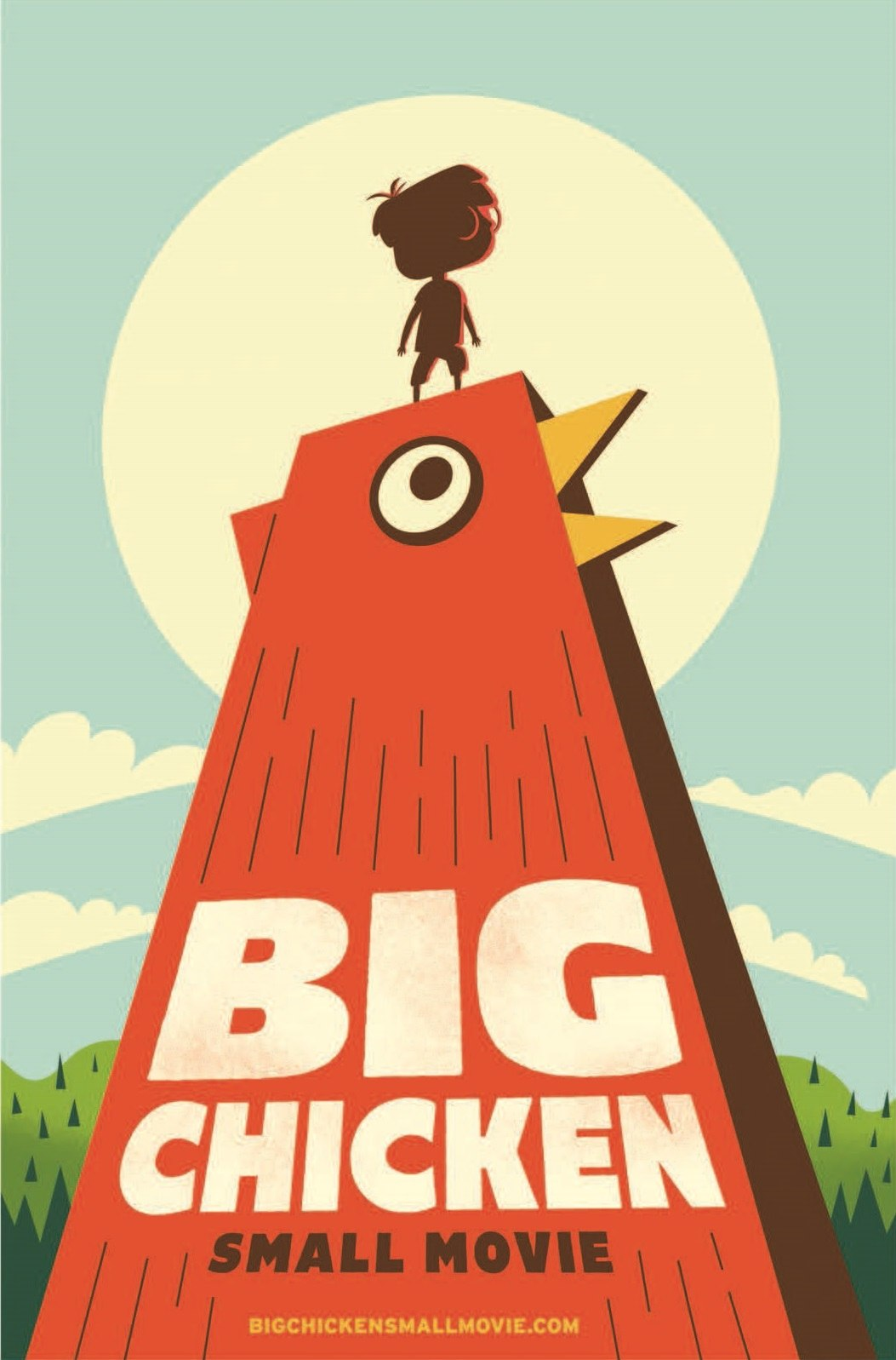 awesome inc brings big chicken small movie to life for kfc
