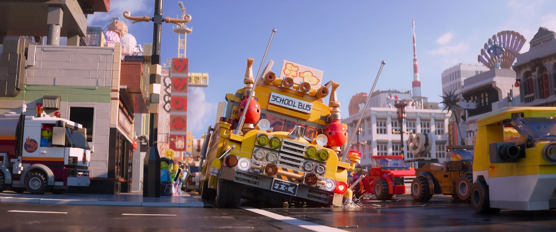 Zooming in to the Scale of 'LEGO Ninjago'   Animation World