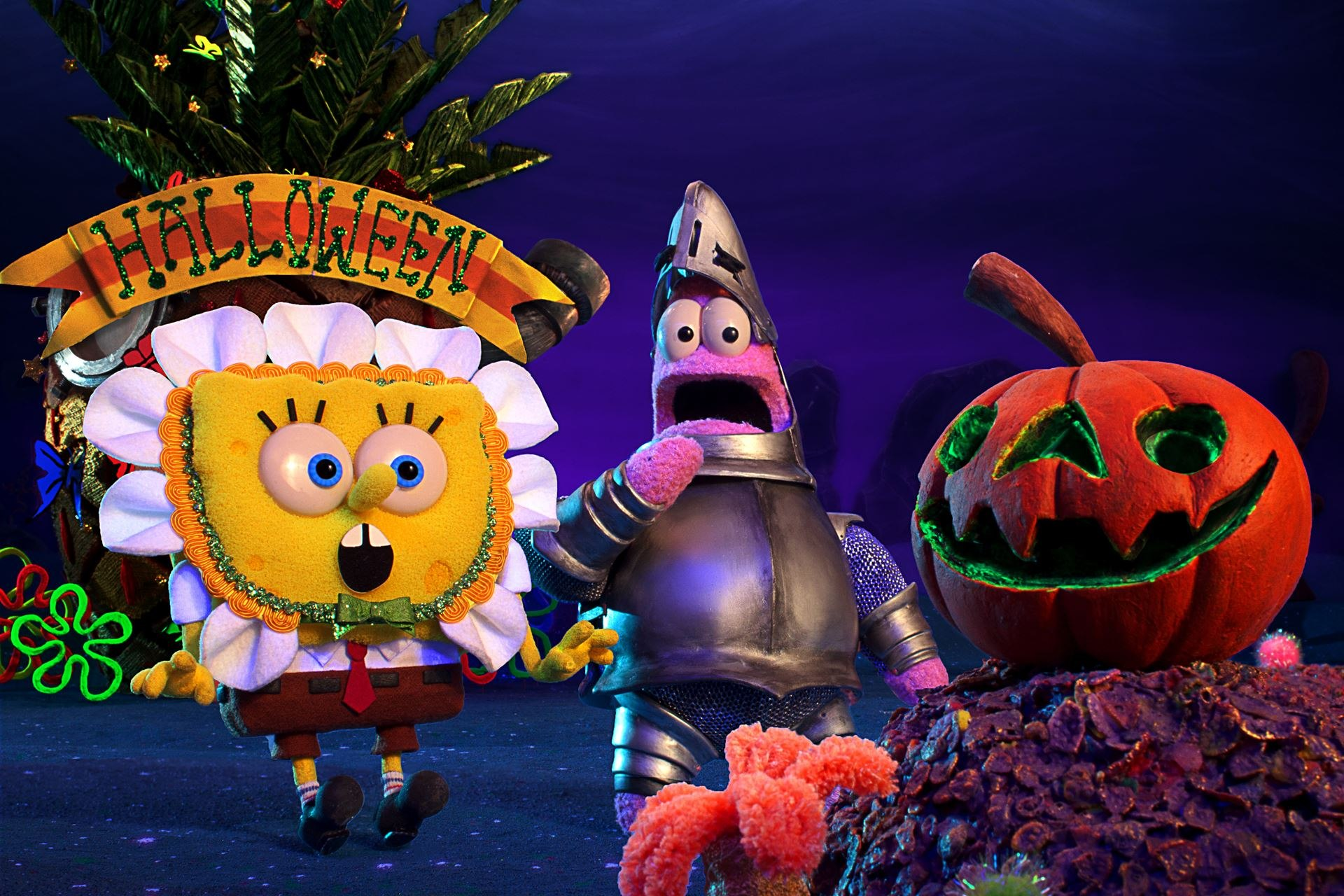 Spongebob Very First Christmas.Screen Novelties Delivers Spooky Thrills And Chills For