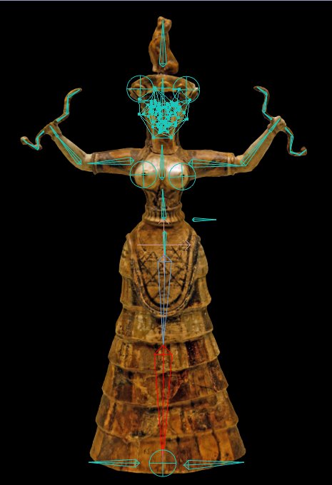ready to frame Goddess Dance Original Collage