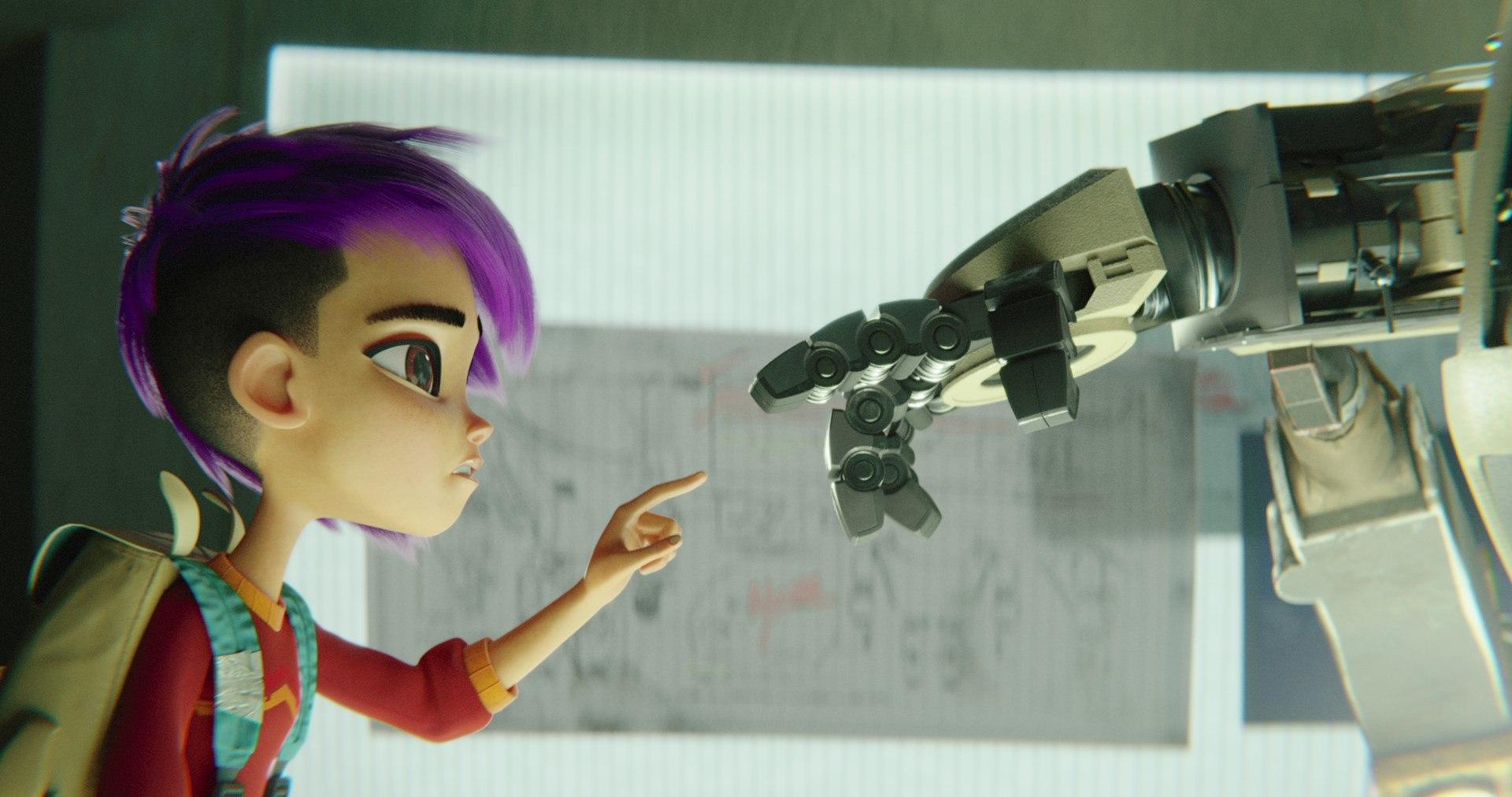 A Girl And Her Robot Next Gen Arrives On Netflix -9558