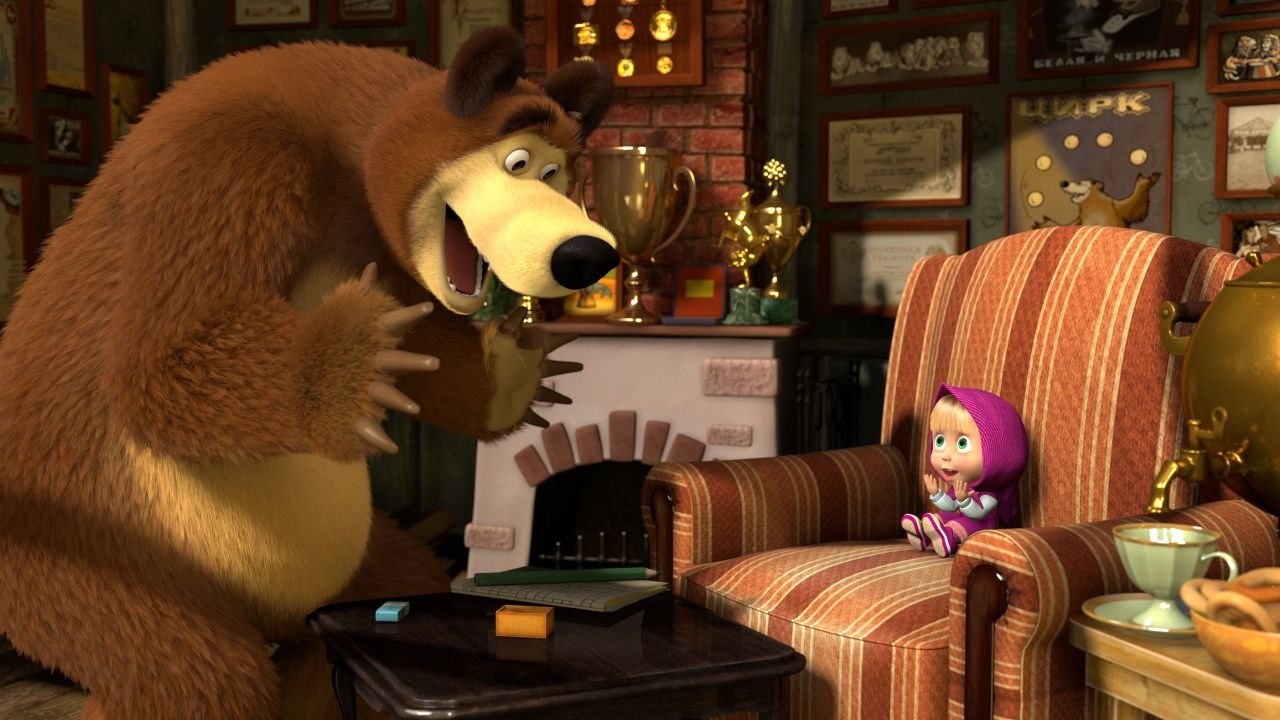 Masha And The Bear To Launch On Univision In U S