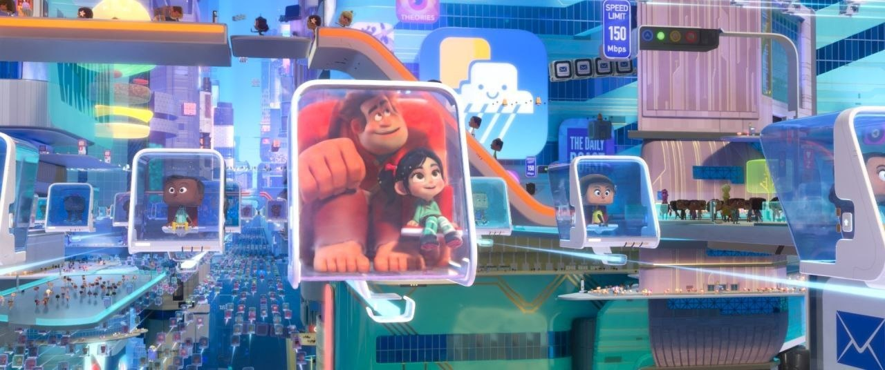 Visualizing and Building the World of 'Ralph Breaks the