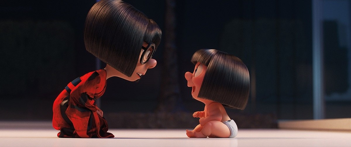 Incredibles 2 How Pixar Story Artist Ted Mathot Brought The Auntie Edna Mini Movie To Life Animation World Network
