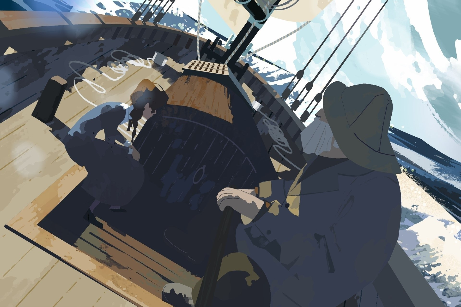 John Kahrs Enters the 'Age of Sail' with Cinematic New VR Short