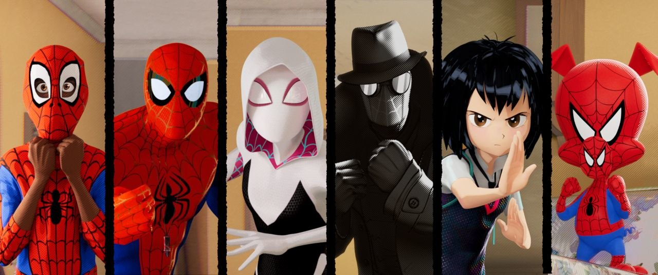 Creating A Stylized Universe For Sony S Spider Man Into The Spider