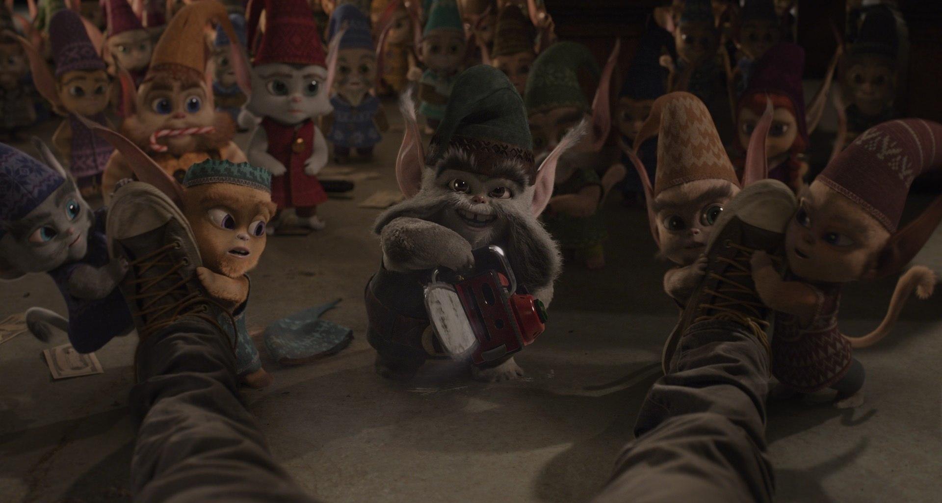 The Christmas Chronicles Elves.Vfx Breakdown Method Studios Helps Santa S Reindeer Take