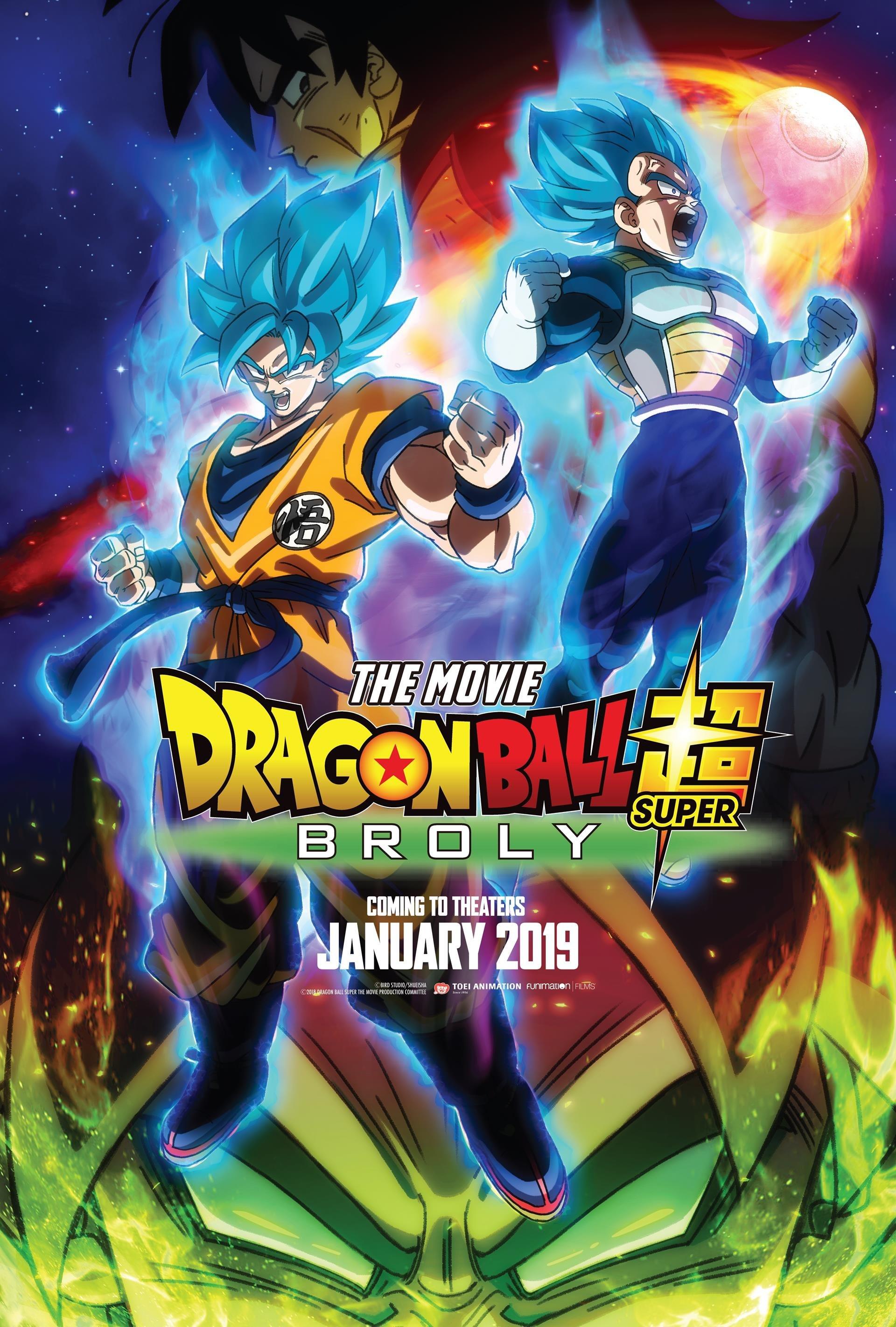 Akira Toriyama S Dragon Ball Super Broly Opens January 16