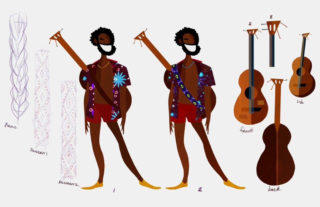 Calypso and 60s Cartoon Design Collide in 'Guava Island
