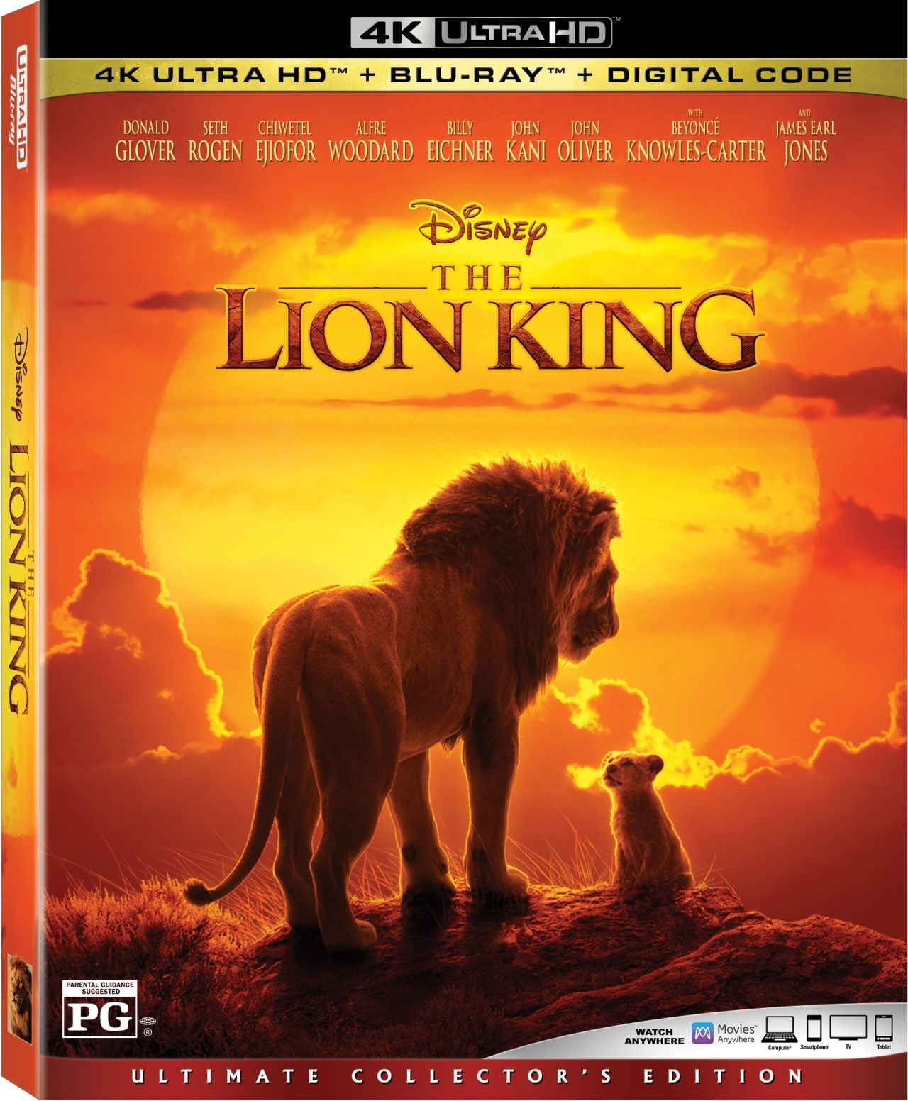 Disneys The Lion King Now Available On Digital In Hd 4k