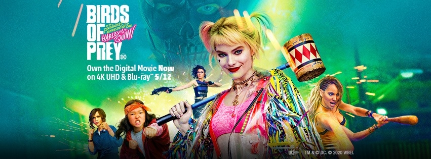 Birds Of Prey And The Fabulous Emancipation Of One Harley Quinn Arrives May 12 On 4k Uhd Blu Ray And Dvd Animation World Network