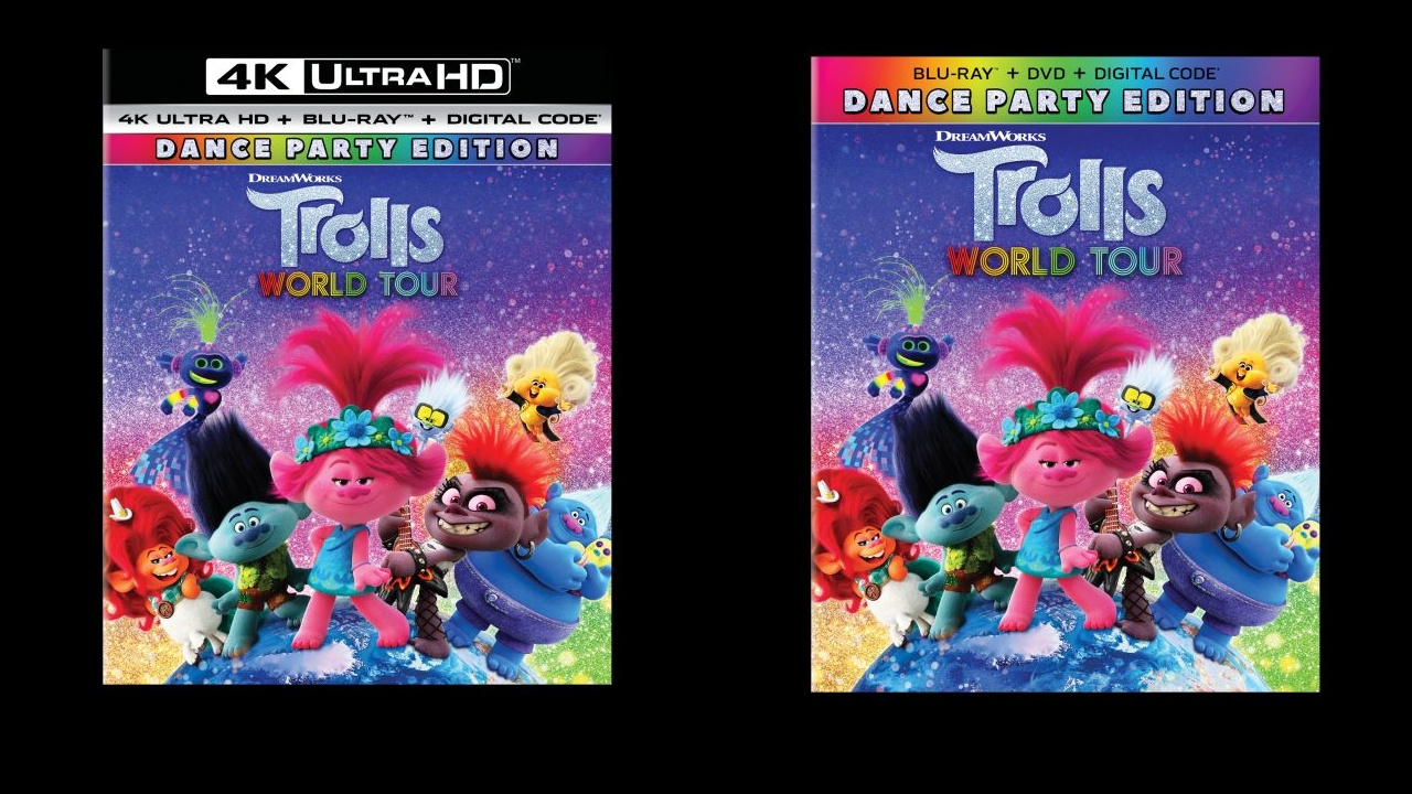 Trolls World Tour Dance Party Edition Now Available On 4k Ultra Hd And Blu Ray Animation World Network