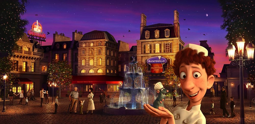 disneyland paris shows off new ratatouille attraction animation world network. Black Bedroom Furniture Sets. Home Design Ideas