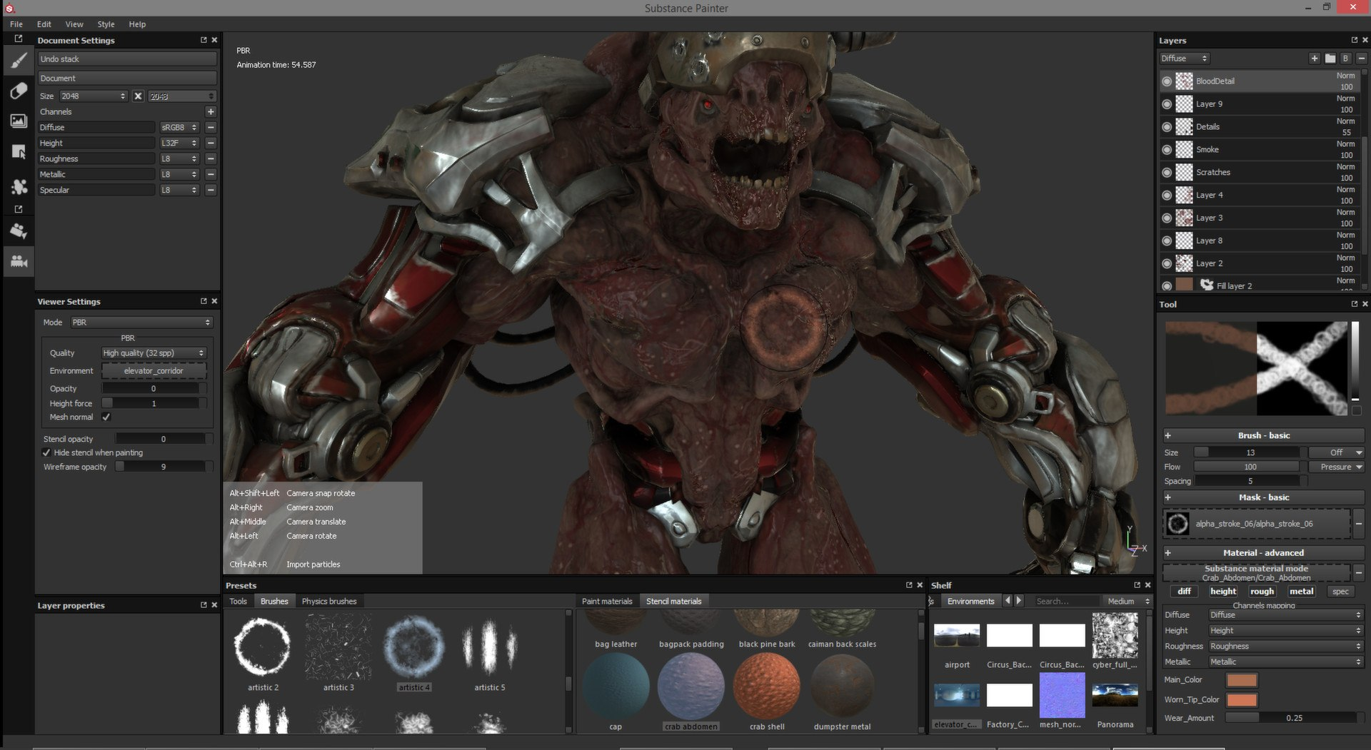 Allegorithmic Releases Substance Painter Beta on Steam | Animation