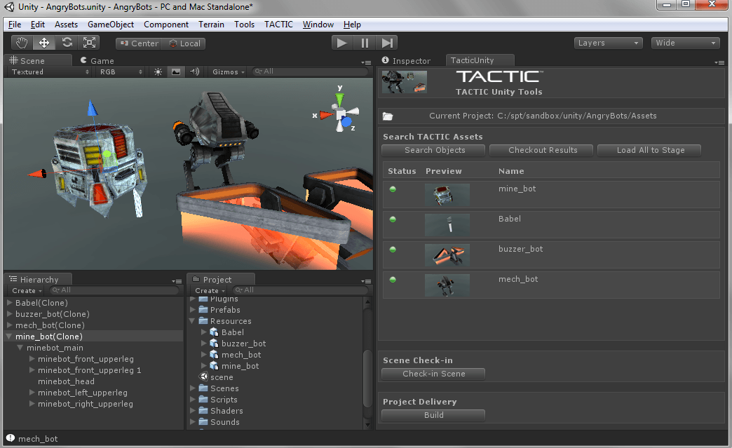 Southpaw to Launch TACTIC | aWare for the Unity Game Engine ...